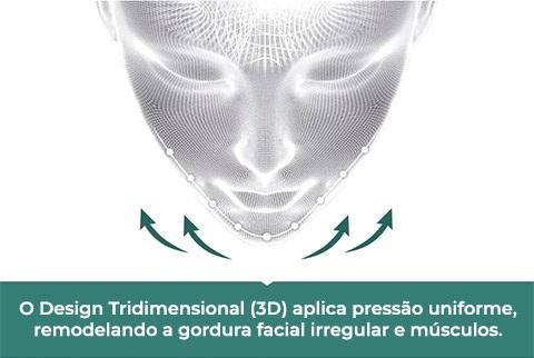 Design 3D Máscara Anti Rugas